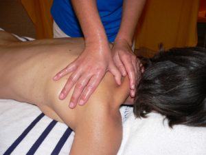 massage du cou